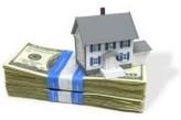 huis op stapel dollars